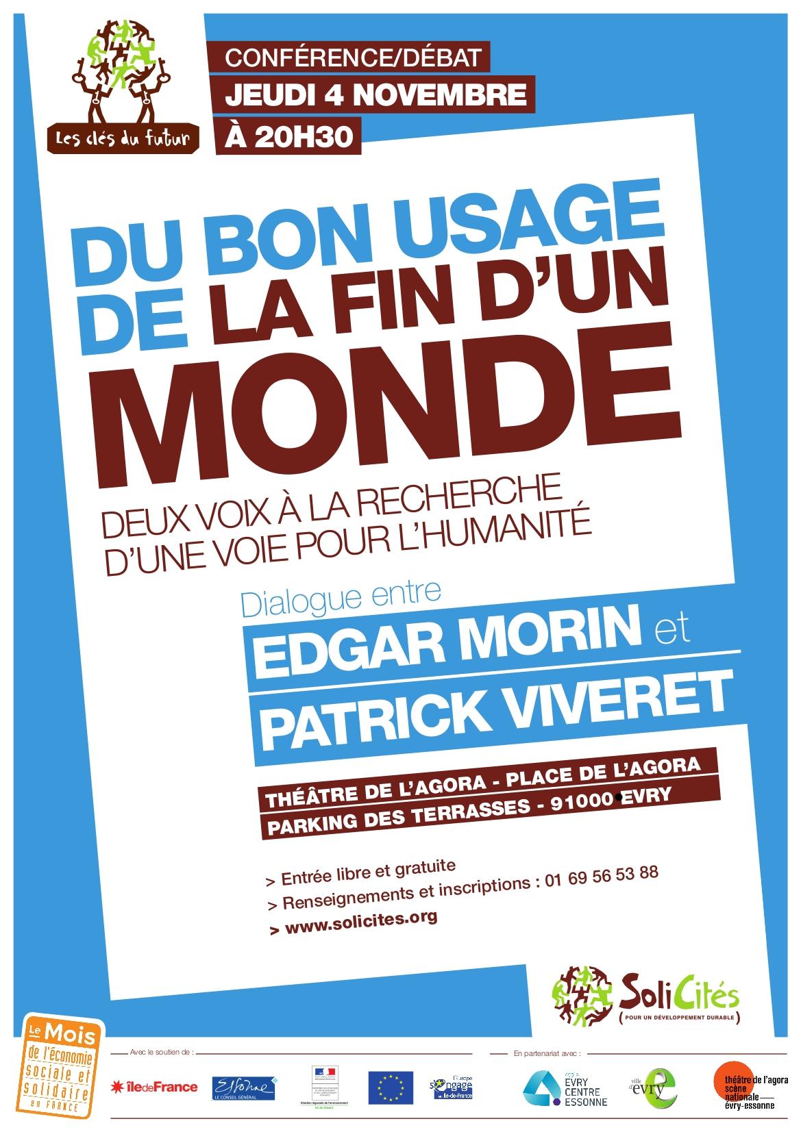 Vidéon - Conférence Débat   Du bon usage de la fin d un monde c347ed910f3